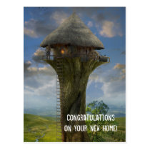 congratulations on your new home, new, home, congratulations, personalized, buyer, cute, congratulation, custom, notes, house, modern, realtors, real, estate, from, greeting, address, cards, Postcard with custom graphic design