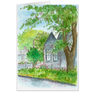 Congratulations On Your New Home Victorian House Card