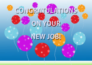 On your congratulations new job cards greeting photo cards zazzle congratulations on your new job card thecheapjerseys Image collections