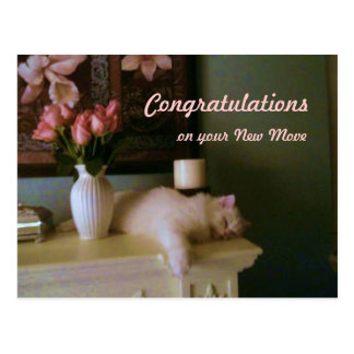 Congratulations on your New Move Postcard