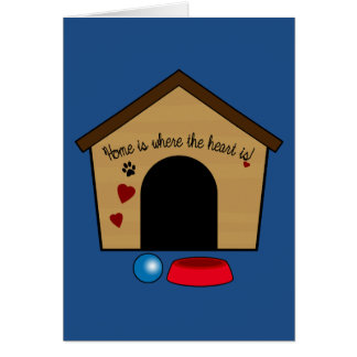 Congratulations on Your New Puppy with Dog House Card