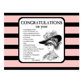 Congratulations on Your... Postcard
