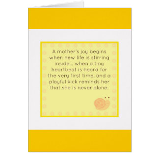 Congratulations on your pregnancy card