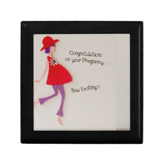 congratulations on your pregnancy! jewelry box