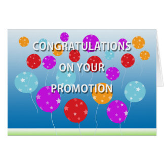Congratulations On Your Promotion Card