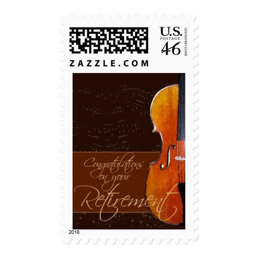 Congratulations on your retirement stamps