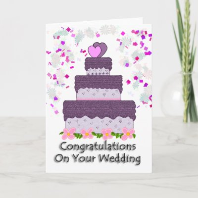 Congratulations On Your Wedding Card by Perlyyyy