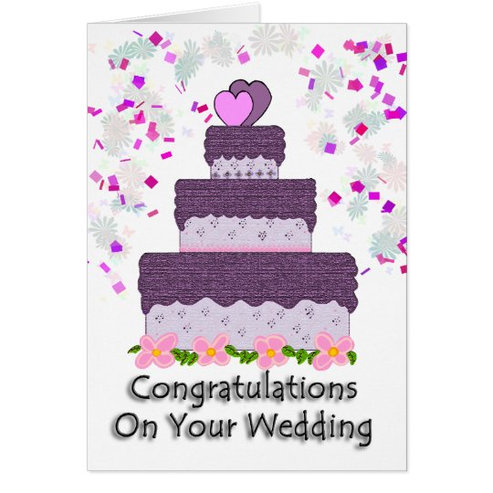 Congrats On Your Wedding: Congratulations On Your Wedding Card