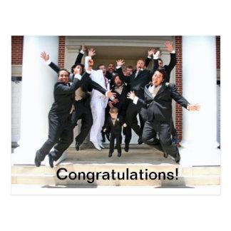 Congratulations on Your Wedding Postcard