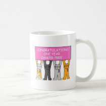 Congratulations One Year Cancer Free Coffee Mug