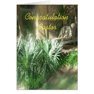congratulations Pastor Card