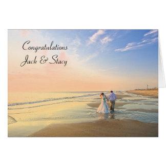 Congratulations Personalized Wedding Card