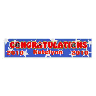 Congratulations/ Photo Banner Poster