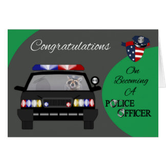 Congratulations, Police Officer Greeting Card