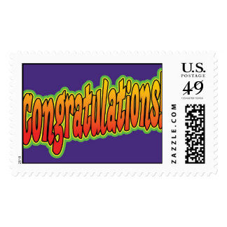 Congratulations! Postage Stamps