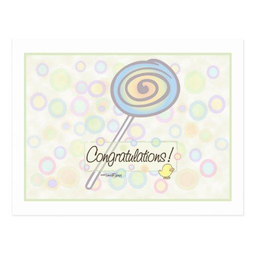 Congratulations! Postcard