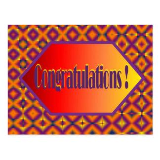 congratulations post cards