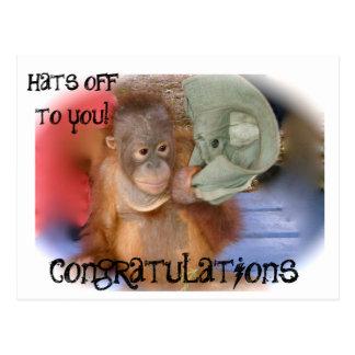 Congratulations Postcard