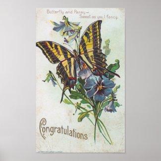 Congratulations print