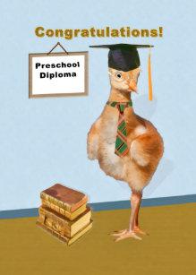 Congratulations Preschool Graduation Card