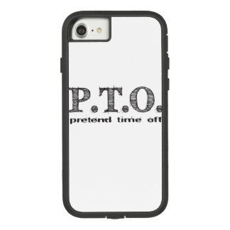 Congratulations  Promoted to Pretend Time Off Case-Mate Tough Extreme iPhone 8/7 Case