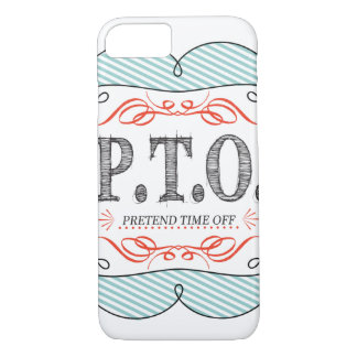 Congratulations  Promoted to Pretend Time Off iPhone 8/7 Case