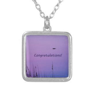 Congratulations purple sunset custom jewelry