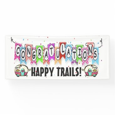 CONGRATULATIONS Retirement - Wedding Banner