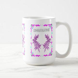 Congratulations, sprigs of heather coffee mug