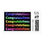 Congratulations Stamp