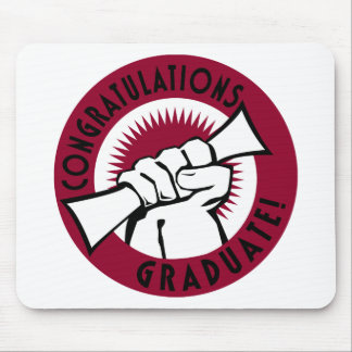 Congratulations Stamp Mouse Pads