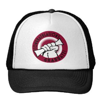 Congratulations Stamp Trucker Hat
