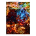 Congratulations - Stellar Group, Tarantula Nebula Card
