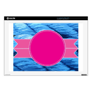 """congratulations thanks shower gift party colorful 17"""" laptop skin"""
