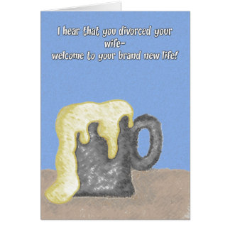 Congratulations - To Him Greeting Card