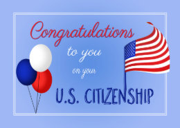 citizenship cards greeting photo cards zazzle