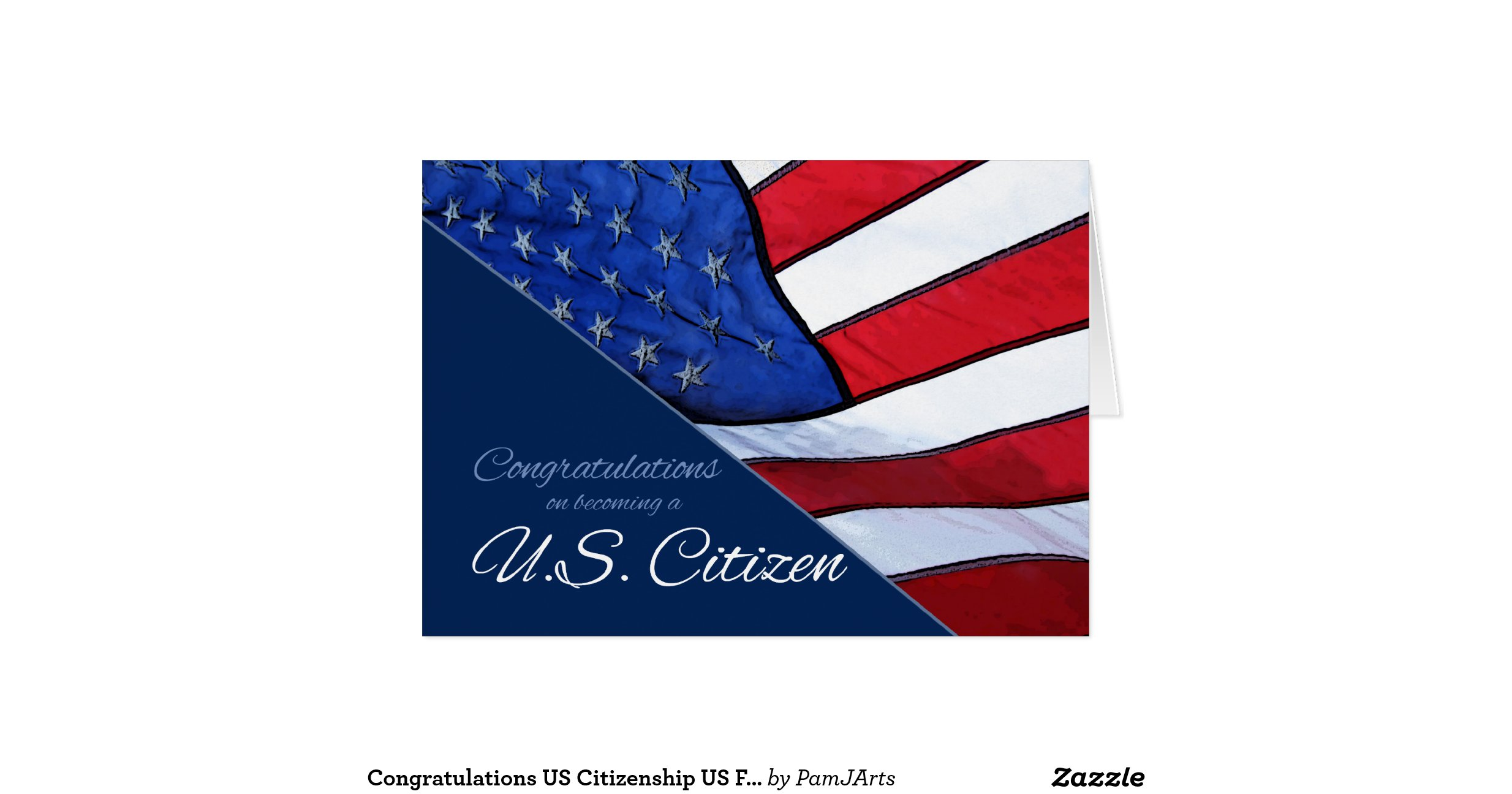 Congratulations On Citizenship Greeting Card
