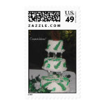 Congratulations Wedding Cake Postage Stamp