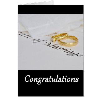 Congratulations Wedding Greeting Card