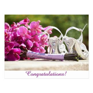 Congratulations!--Wedding Postcard