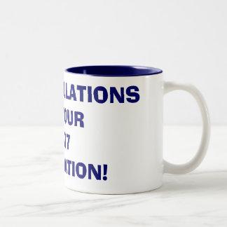 CONGRATULATIONSON YOUR2007GRADUATION! Two-Tone COFFEE MUG