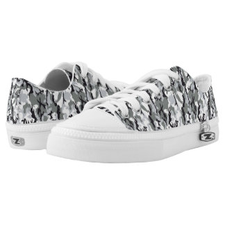 congregation camouflage Low-Top sneakers