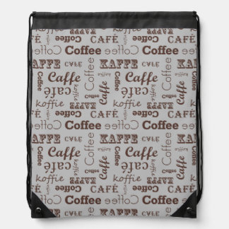 Congregation Coffee Pattern Backpack
