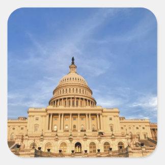 Congreso de Estados Unidos Pegatinas Cuadradas