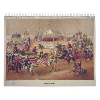 Congreso de las naciones (1875) calendarios