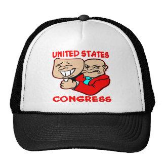 Congreso de mentira hecho frente de los 2 E E U U Gorro