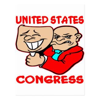 Congreso de mentira hecho frente de los 2 E E U U Postal