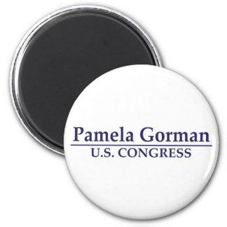 Congreso de Pamela Gorman los E.E.U.U. Imán Redondo 5 Cm