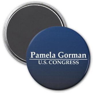 Congreso de Pamela Gorman los E.E.U.U. Imán Redondo 7 Cm