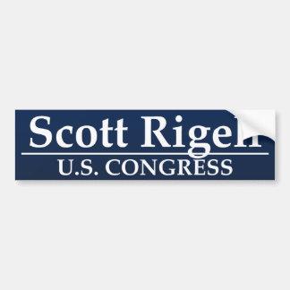 Congreso de Scott Rigell los E.E.U.U. Pegatina Para Auto